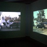 diary of a nomad documentation 10 - video installation by contemporary Native Canadian artist Jude Norris
