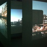 diary of a nomad documentation 11 - video installation by contemporary Native Canadian artist Jude Norris