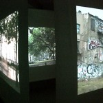 diary of a nomad documentation 12 - video installation by contemporary Native Canadian artist Jude Norris