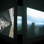 diary of a nomad documentation 4 - video installation by contemporary Native Canadian artist Jude Norris
