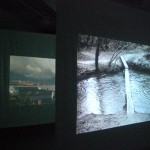 diary of a nomad documentation 6 - video installation by contemporary Native Canadian artist Jude Norris