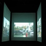 diary of a nomad documentation 8 - video installation by contemporary Native Canadian artist Jude Norris