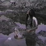 toxic soil 11 - live artwork for video by contemporary First Nations artist Jude Norris
